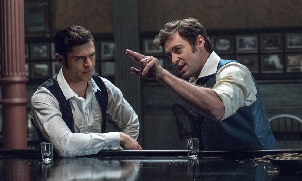 """Zac Efron y Hugh Jackman en """"El gran showman"""""""