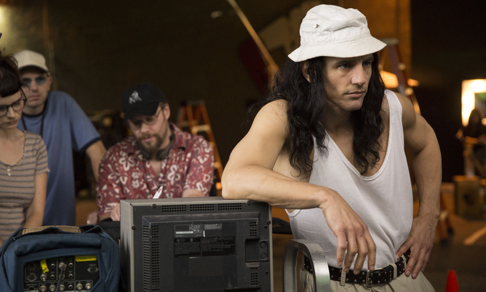 "James Franco en ""The disaster artist"""